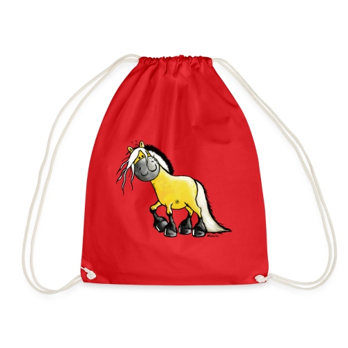 fjord_horse - Drawstring Bag