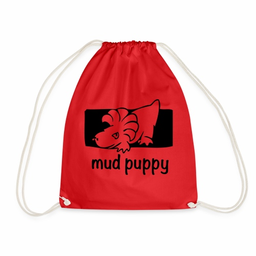 Are you a Mud Puppy? - Drawstring Bag