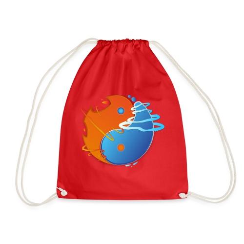 Ying-yang feu et glace - Sac de sport léger