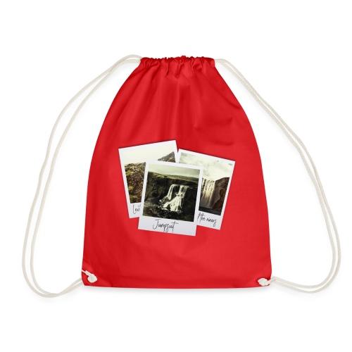 First three singles - Drawstring Bag