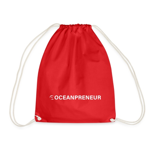 oceanpreneuer white - Turnbeutel