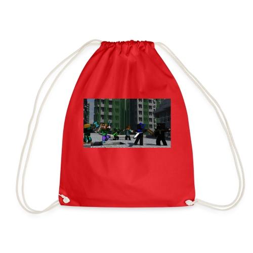 Minecraft Kopp - Gymbag