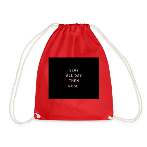 Slay all day - Drawstring Bag