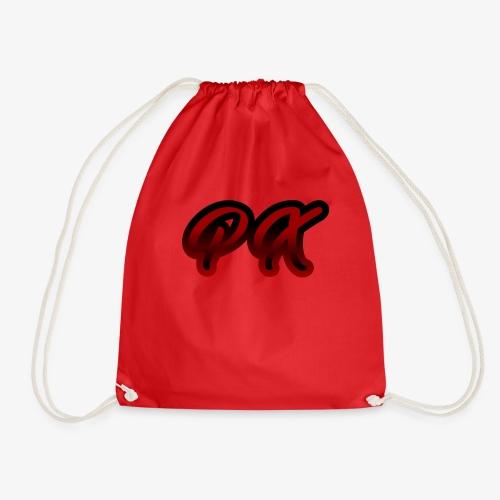 PX Logo 1 red black - Turnbeutel