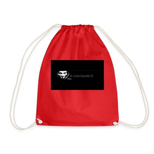 ix anonymous ix - Drawstring Bag