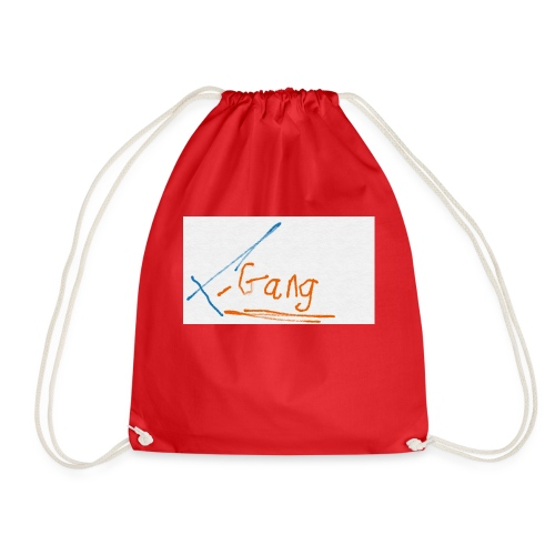 t gang logo - Drawstring Bag