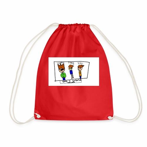 ZacsWorld - Drawstring Bag