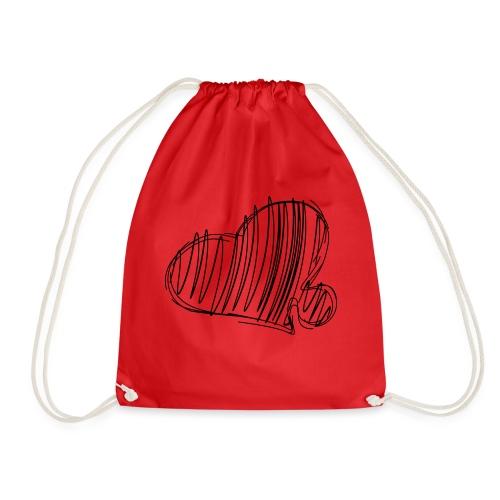 Hjertepuslebit II - Gymbag
