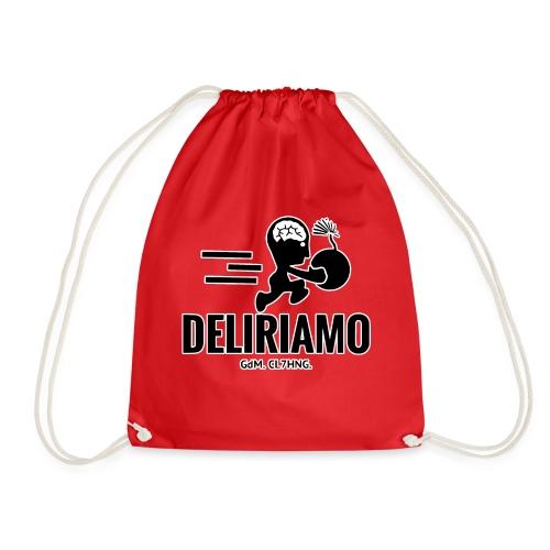 DELIRIAMO CLOTHING BRAINBOMB - Sacca sportiva