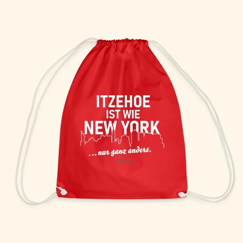 Itzehoe 👍 ist wie New York Spruch 😁 - Turnbeutel
