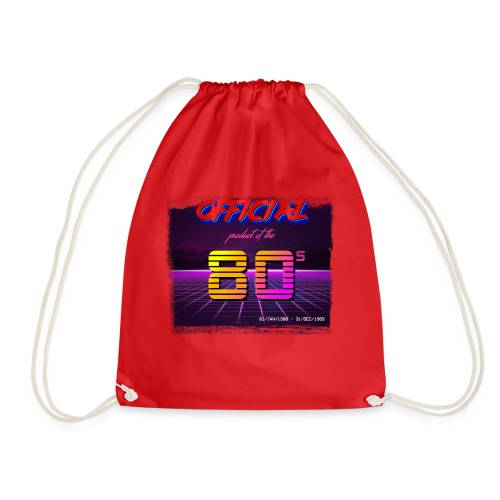 Official product of the 80's clothing - Drawstring Bag