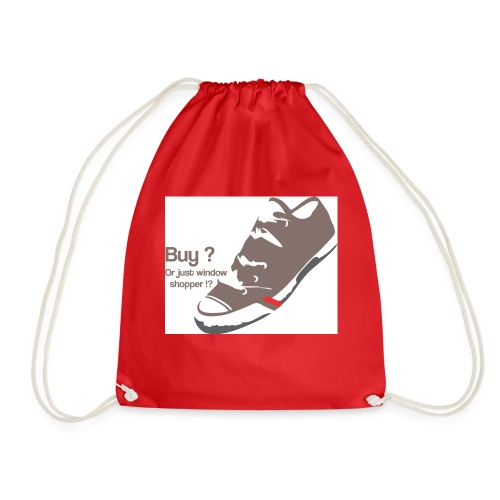 window_shopper - Drawstring Bag