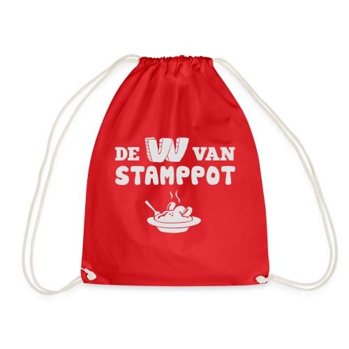 De W van Stamppot - Gymtas
