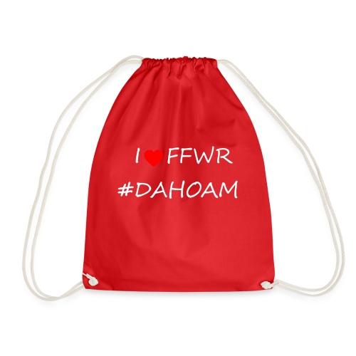 I ❤️ FFWR #DAHOAM - Turnbeutel