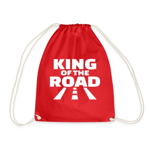 king of the road Weiss - Turnbeutel