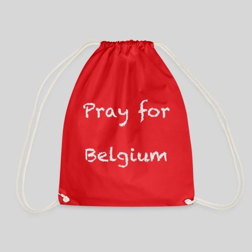 Pray for Belgium - Sac de sport léger