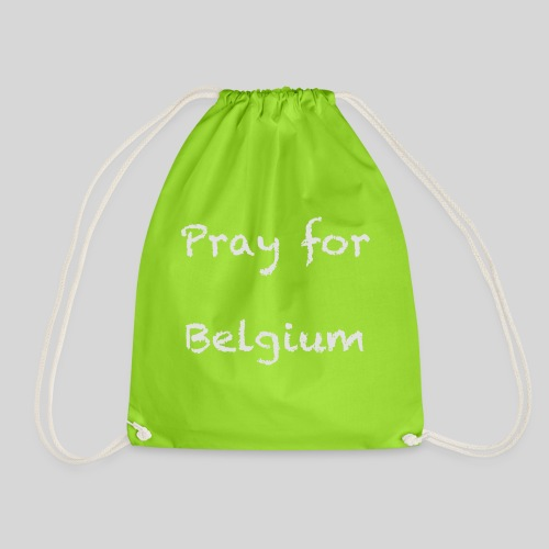 Pray for Belgium - Sac de sport léger