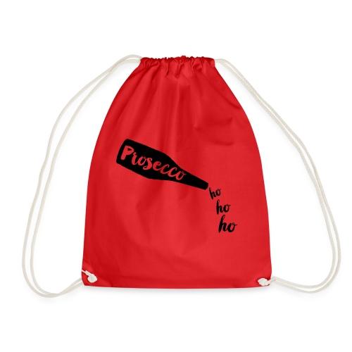 Prosecco Ho Ho Ho - Drawstring Bag