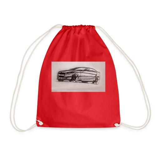 car - Drawstring Bag