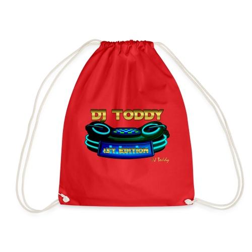 DJ TODDY 1st EDITION (Blau) Limitierte Edition - Turnbeutel