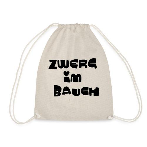 Zwerg im Bauch / Süßes Design für Schwangere - Turnbeutel