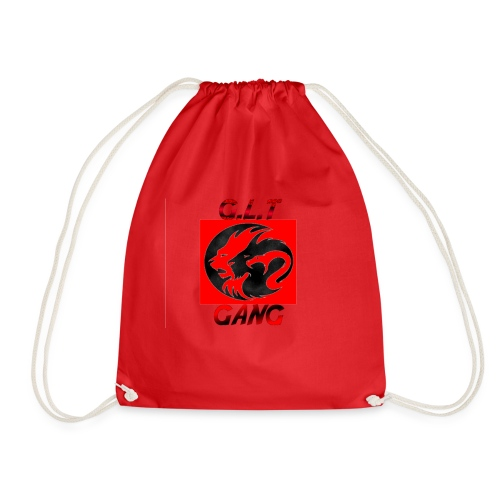 G.L.T Gang Logo on hat - Drawstring Bag