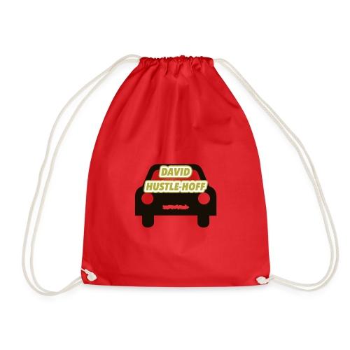 David Hustle-Hoff - Drawstring Bag