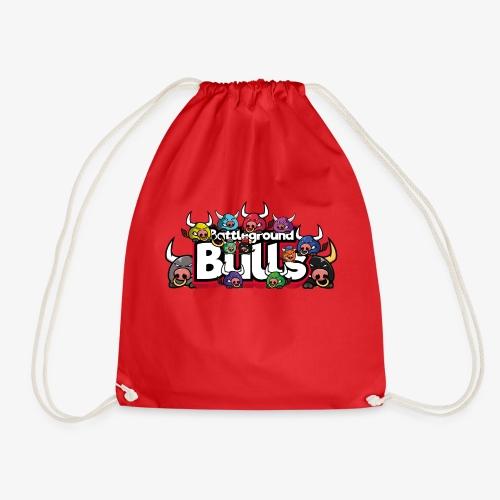Bulls-Familie - Turnbeutel