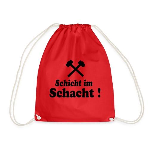 Schicht im Schacht - Hammer und Eisen - Turnbeutel