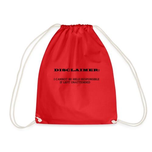 DISCLAIMER - Drawstring Bag