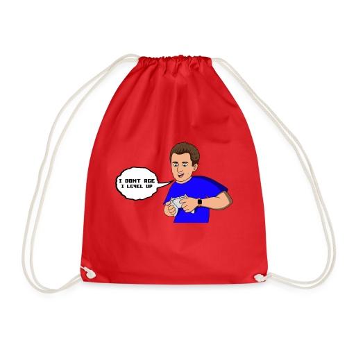 I dont age quote cartoon - Drawstring Bag