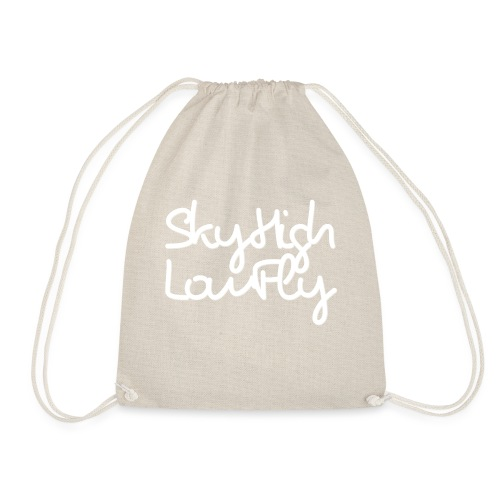SkyHighLowFly - Bella Women's Sweater - White - Drawstring Bag