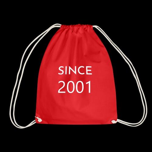 Geburtstag t-shirt zum 18 Jahr/ since 2001 - Turnbeutel