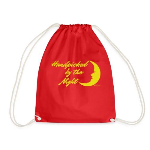 Handpicked design By The Night - Logo Yellow - Drawstring Bag