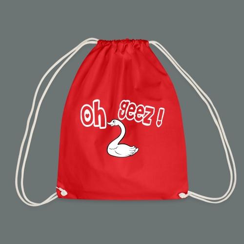 Oh_Geez - Drawstring Bag