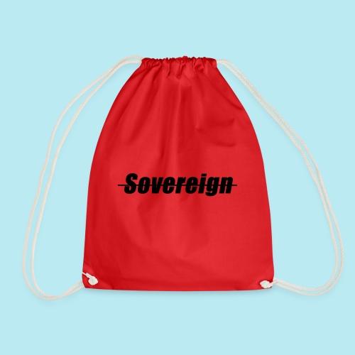 Sovereign Dash Black - Drawstring Bag