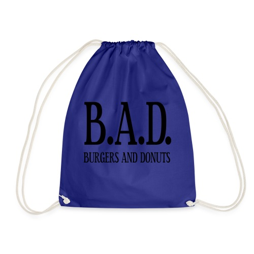 BAD - burgers and donuts - Turnbeutel