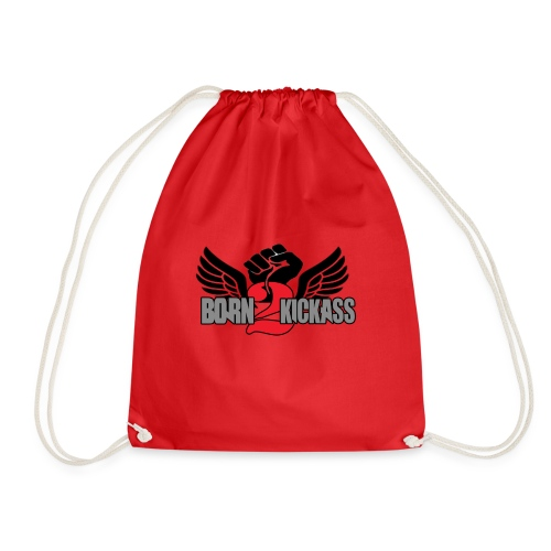Born 2 KickAss official products - Drawstring Bag