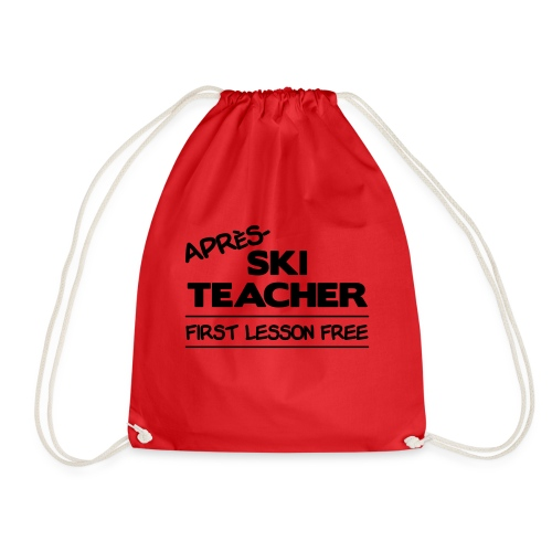 Apres ski teacher - Turnbeutel