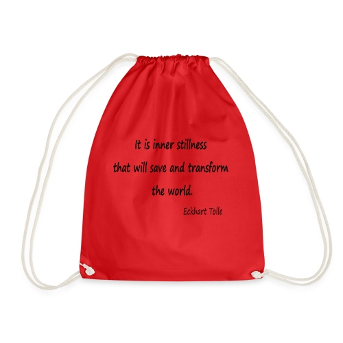 Inner Stillness - Drawstring Bag