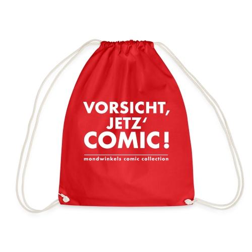 Vorsicht, Jetz' Comic! - Turnbeutel
