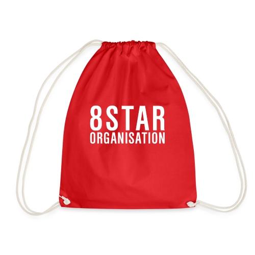 Eight Star Organisation White - Turnbeutel