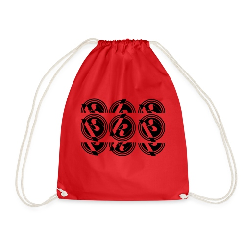 Split logo - Drawstring Bag