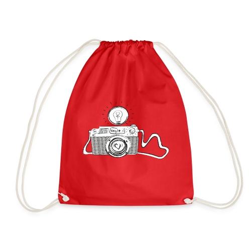 S33 camera-smile - Turnbeutel