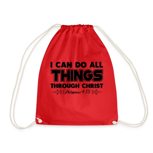 I Can Do All Things - Drawstring Bag