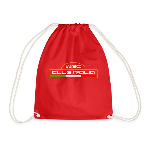 WRC CLUB ITALIA LOGO ANTERIORE - Sacca sportiva