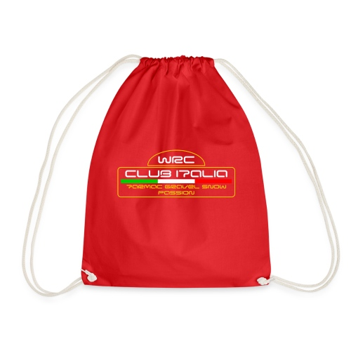 WRC CLUB ITALIA LOGO POSTERIORE - Sacca sportiva