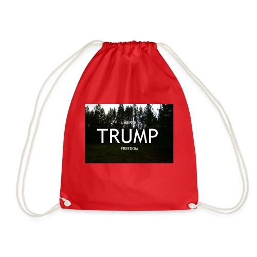 TRUMP, Freedom & Liberty - Drawstring Bag