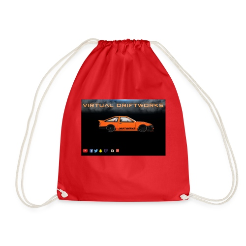 virtual driftworks preview - Drawstring Bag
