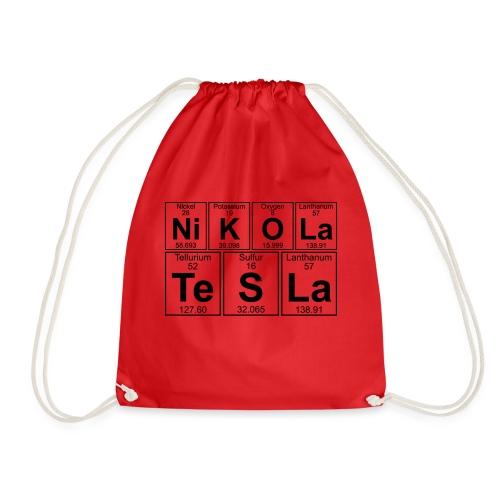 Ni-K-O-La Te-S-La (nikola_tesla) - Full - Drawstring Bag